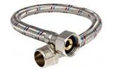 """Tlaková propojovací flexi hadička MF 1/2"""" x 1/2"""" 50cm, PN10, 100°C"""