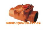 KGZK Kanalizační zpětná klapka DN110 s jedním uzávěrem - CAPRICORN