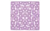 MARGHERITA podložka do sprchového koutu 51,5x51,5cm s protiskluzem, PVC, lila