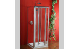 Sigma třístěnný obdélnikový sprchový kout 800x1000x1000 L/P skládací dveře,Brick