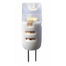 LED žárovka 1,5W, G4, 12V, teplá bílá, 90lm