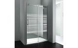DRAGON sprchové dveře 1200mm, sklo CANVAS, pravé