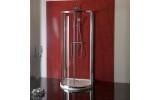 LUCIS LINE půlkruhová sprchová zástěna 1000x1000mm, čiré sklo