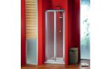 SIGMA sprchové dveře skládací 800 mm, sklo Brick