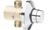 QUIK samouzavírací podomítkový sprchový ventil, chrom