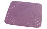 PLATFUS podložka 54x54cm s protiskluzem, kaučuk, fialová