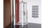 LUCIS LINE čtvrtkruhová sprchová zástěna 1200x900mm, levá