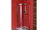 SIGMA čtvrtkruhová zástěna 800x800 mm, R590, 1 dveře, L/R, čiré sklo