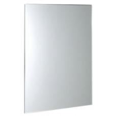 ACCORD zrcadlo s fazetou 600x800mm, zakulacené rohy, bez úchytu