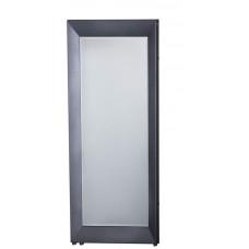 RAMA LUX otopné těleso se zrcadlem 595x1448mm, 651 W, grafit