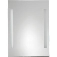 Zrcadlo s LED osvětlením 50x70cm, kolíbkový vypínač