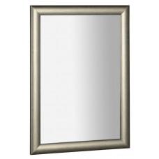 VALERIA zrcadlo v dřevěném rámu 580x780mm, platina