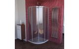 LUCIS LINE čtvrtkruhová sprchová zástěna, 900x900mm, R550, čiré sklo