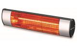 SOLEADO koupelnový infrazářič 1500 W, 513x124 mm, stříbrná