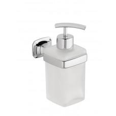 AIDA dávkovač mýdla, chrom/sklo satin