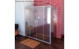 Lucis Line třístěnný sprchový kout 1500x800x800mm