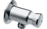 QUIK samouzavírací nástěnný sprchový ventil, chrom