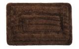 JUWEL předložka 60x90cm s protiskluzem, polyester, hnědá
