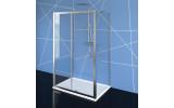 EASY LINE třístěnný sprchový kout 1100x800mm, L/P varianta, čiré sklo