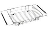 Drátěný košík ke dřezům EPIC a ZONDA, 25x44x8 cm, nerez