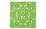 MARGHERITA podložka do sprchového koutu 51,5x51,5cm s protiskluzem, PVC, zelená