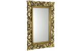 SCULE zrcadlo v rámu, 80x120cm, zlatá
