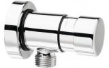 QUIK4 samouzavírací nástěnný pisoárový ventil, 1 výstup, chrom