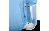 EASY LINE čtvrtkruhová sprchová zástěna 900x900mm, čiré sklo
