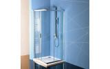 EASY LINE čtvercová sprchová zástěna 800x800mm, čiré sklo