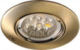 LUTO podhledové svítidlo, 50W, 12V, bronz