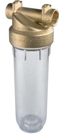 """ATLAS Vodní filtr SENIOR """"K"""" 1"""" 2P - 10"""" BX 45°C PN10 s mosaznou hlavou 3110724"""