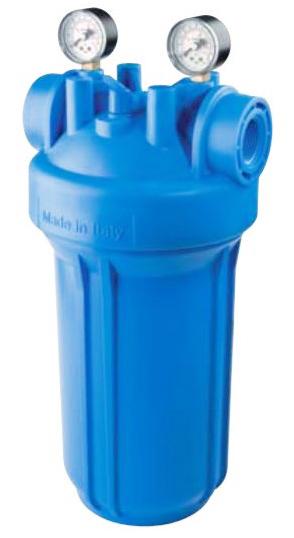 "Vodní filtr ATLAS Senior BIG M 1"" 2P SX - s manometry 1700732"