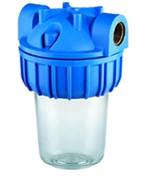 """ATLAS FILTRI Vodní filtr ATLAS Medium 5"""" 3P 3/4"""" BX - 8BAR, 45°C 1070421"""