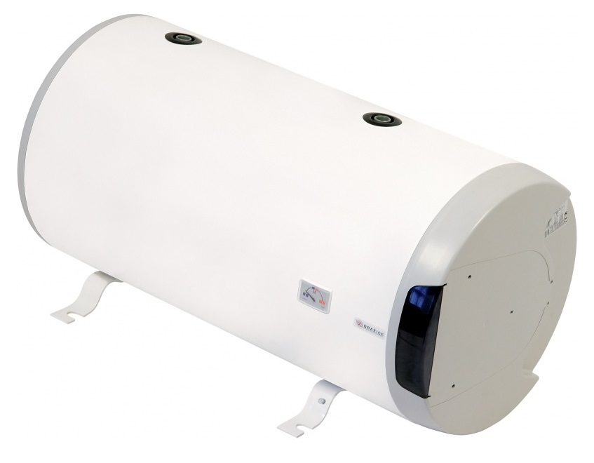 DRAŽICE OKCV 125 Kombinovaný zásobníkový vodorovný ohřívač vody 125 litrů - LEVÝ 1103408112