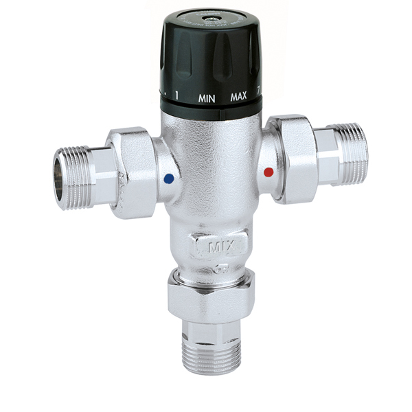 "CALEFFI 521 1/2"" Termostatický směšovací ventil 30°C - 65°C 52112"