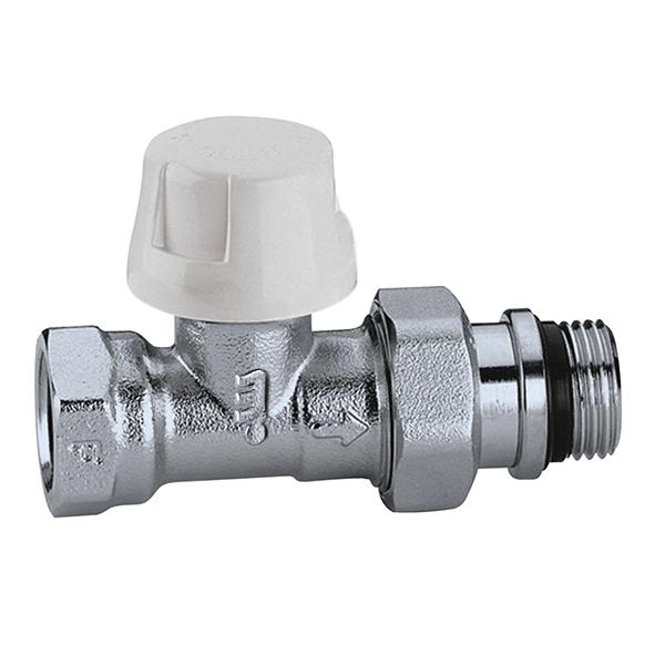 """CALEFFI 221 Termostatický ventil radiátorový přímý DN10 - 3/8"""" PN10, Tmax 100°C 5622138"""