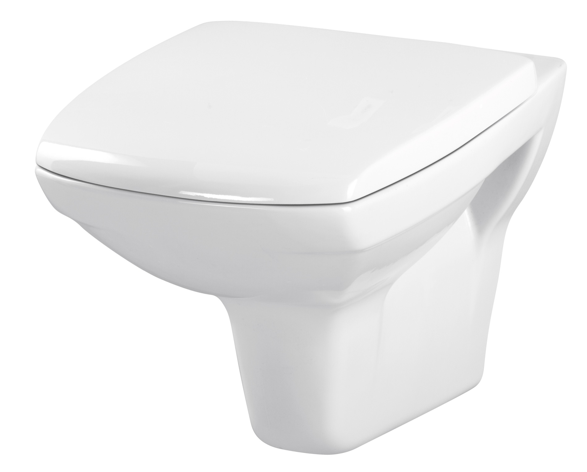 Závěsná WC Mísa CARINA - K31-002 CERSANIT, bez sedátka K31-002
