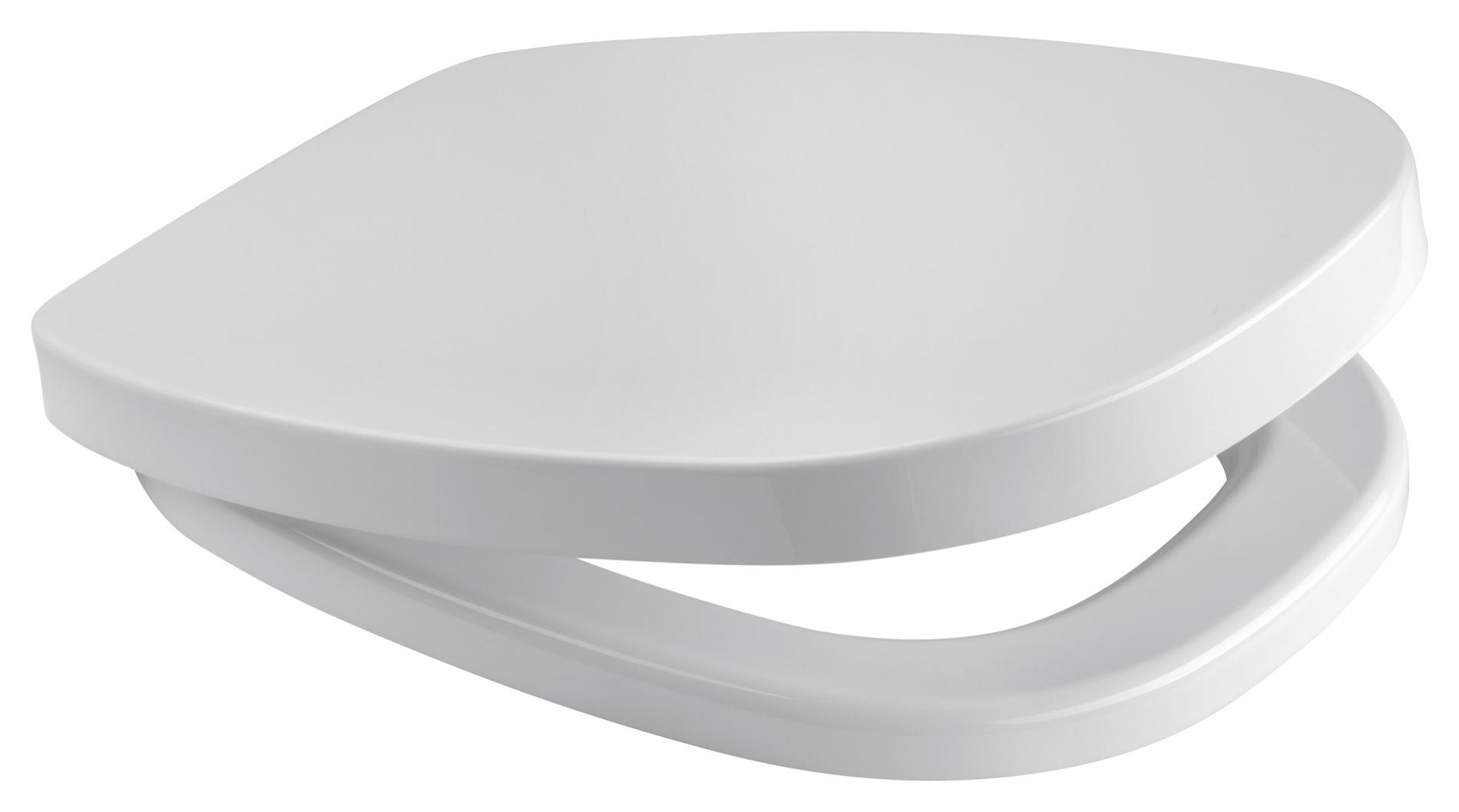 CERSANIT WC Sedátko FACILE - Antibakteriální s brzdou - K98-0067 K98-0067