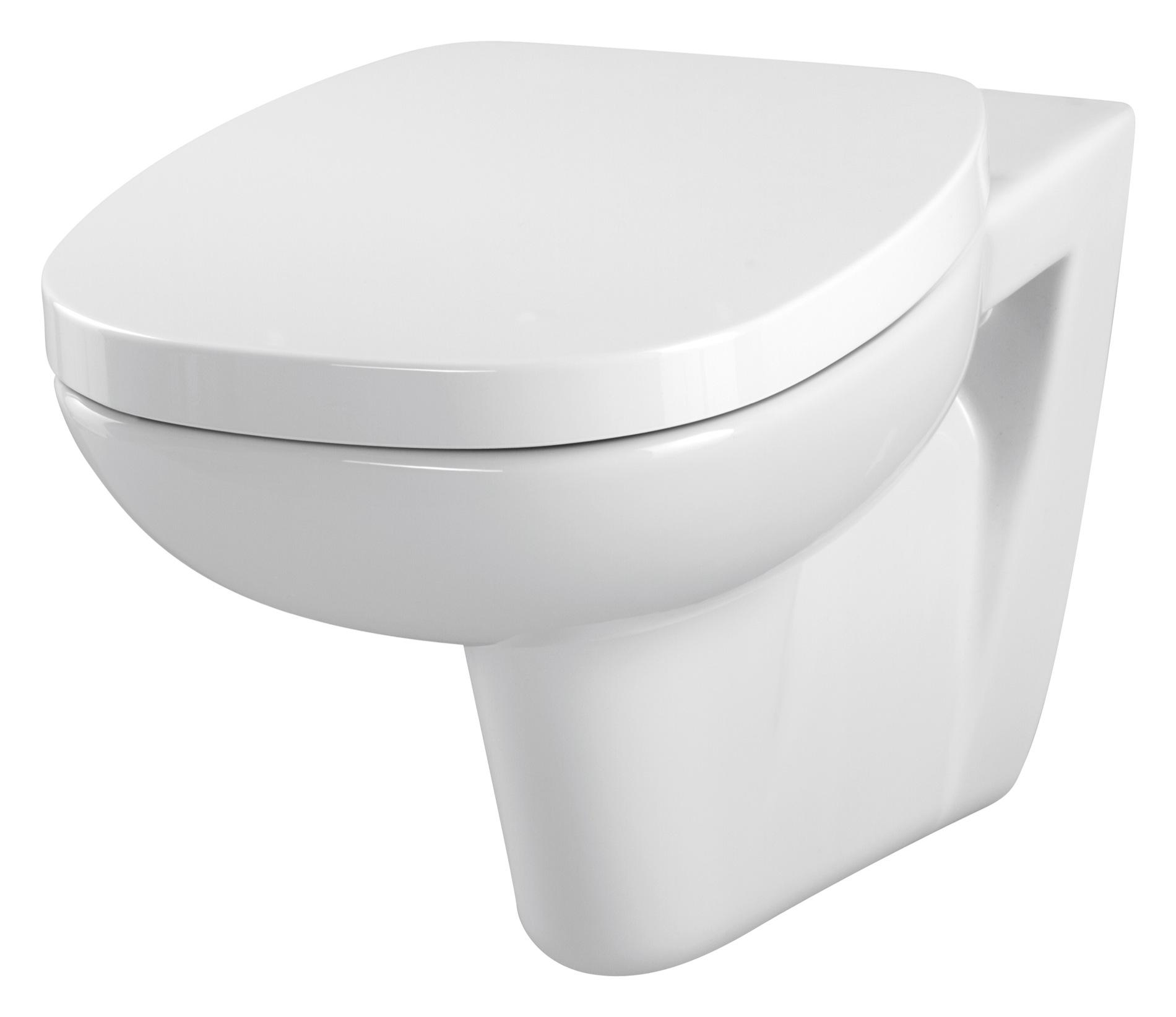 Závěsná WC Mísa FACILE - K30-010 CERSANIT, bez sedátka K30-010