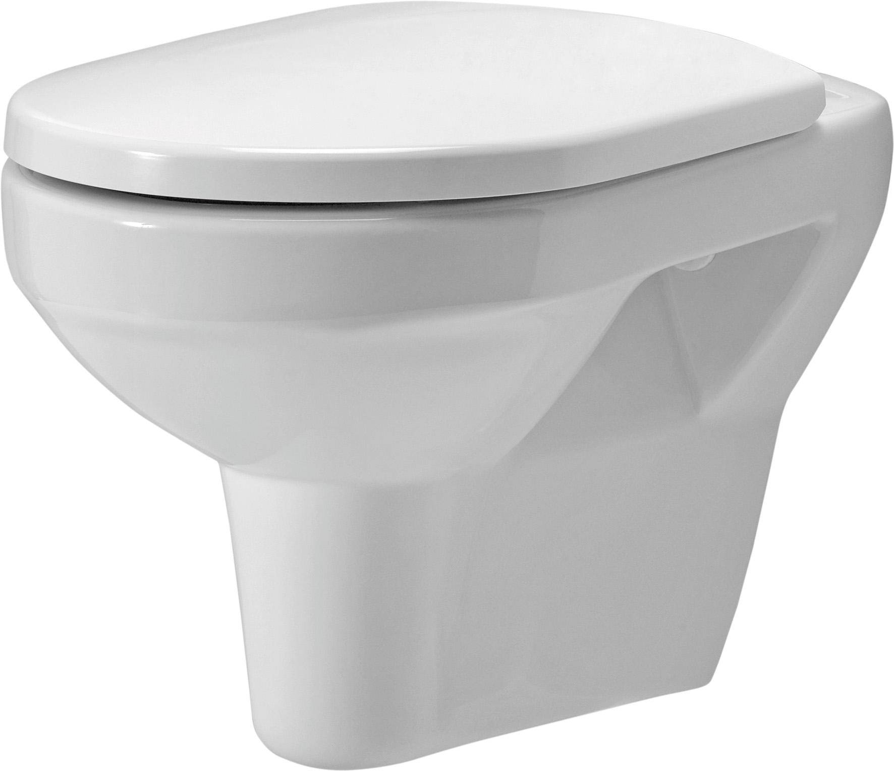 Závěsná WC Mísa OLIMPIA - K10-008 CERSANIT, bez sedátka K10-008