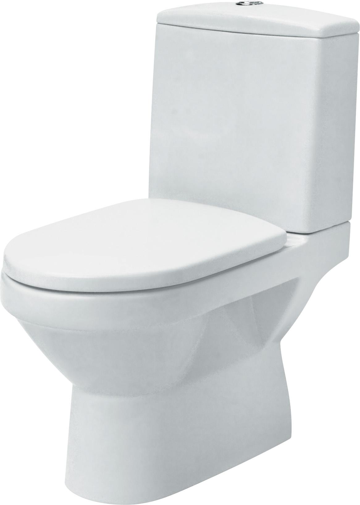 WC Kombi OLIMPIA - Odpad UNI Spodní/Zadní, bez sedátka - K10-011/12 CERSANIT K10-011/12