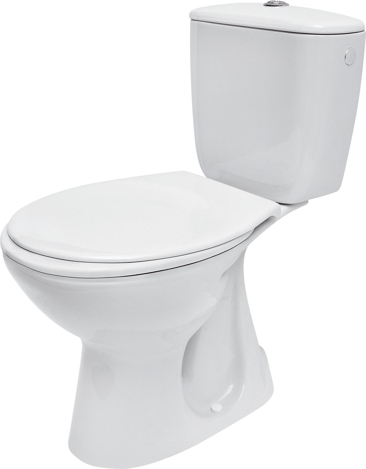WC Kombi PRESIDENT - Spodní odpad, včetně sedátka - K08-029 CERSANIT K08-029
