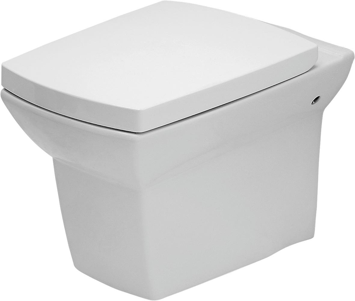 Závěsná WC Mísa SYMFONIA - K14-004 CERSANIT, bez sedátka K14-004