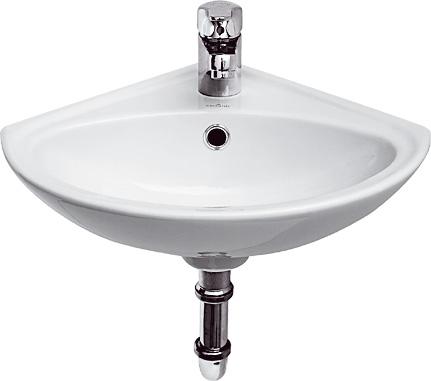 Umyvátko SIGMA 36cm rohové s otvorem - K11-0013 CERSANIT K11-0013