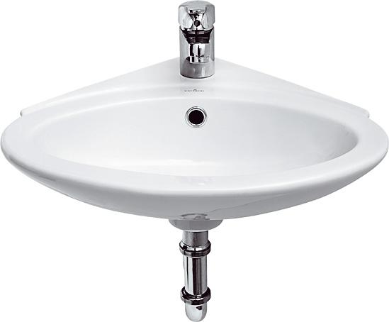Umyvátko TETA 43cm rohové s otvorem - K11-0016 CERSANIT K11-0016