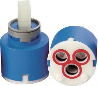 KEROX Keramická hlava (kartuše) Průměr 35mm - NÍZKÁ, 2 kolíky 99071N