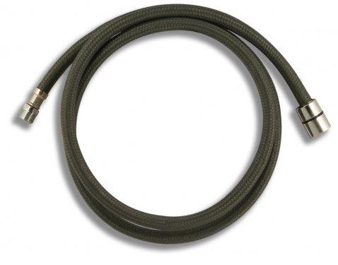 """BELAGGIO Sprchová hadice 1/2"""" x M15 k výsuvné sprše dřezové baterie 170cm, NYLON 82308N"""