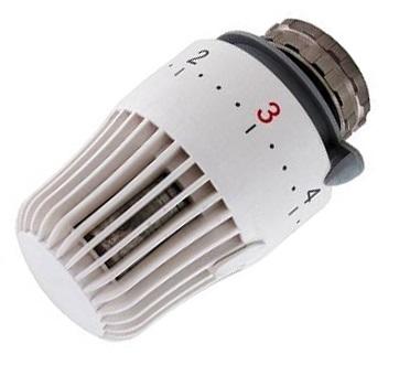 403 Termostatická hlavice kapalinová radiátorová, M30 x 1,5 (0°- 28°C) 66403