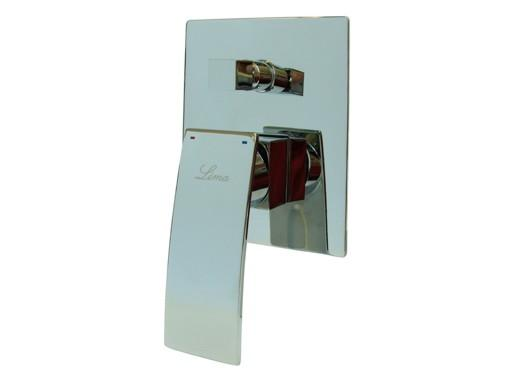 LIMA 2652 Páková podomítková vodovodní baterie s přepínáním na sprchu, CHROM (LI2652) LI2652