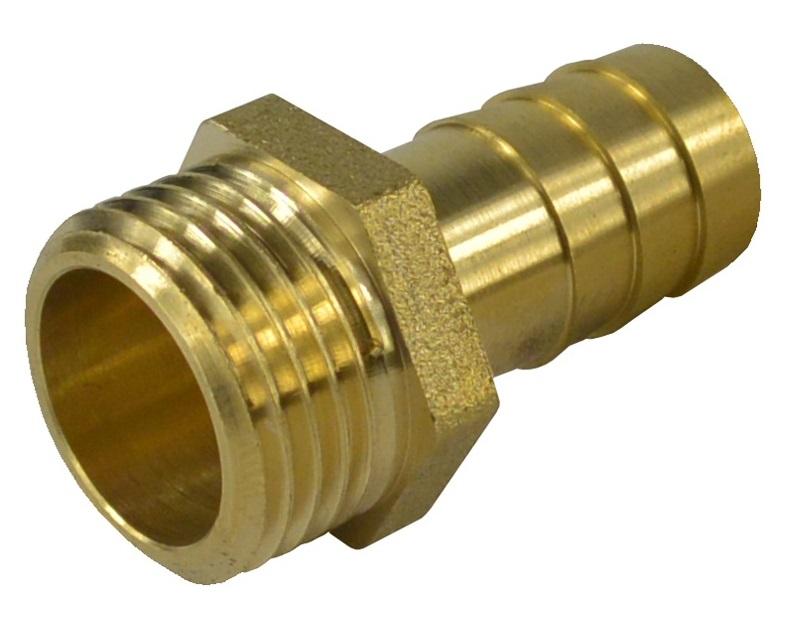"""V&G Mosazný hadičník 3/4"""" x 20mm - Vnější závit, PN20 (6810) 68103420"""